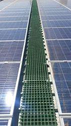 FRP Grating For Solar Panels Roof