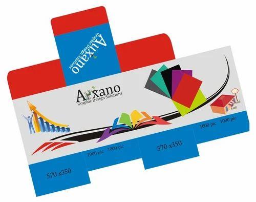 Box and sticker design