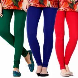 SONEX GOLD Churidar Plain Ladies Cotton Lycra Leggings
