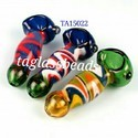 Retro Reversal Inside Out Glass Smoking Pipe