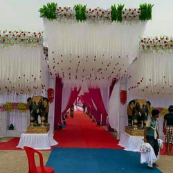 Wedding decoration in meerut wedding entrance gate decorations junglespirit Choice Image