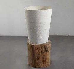Semi Pedestal Stone Sinks
