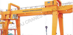 Double Bean Goliath Cranes