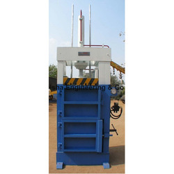Vertical Paper Baling Press