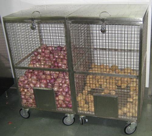 Trolley / rak penyimpanan bawang dan kentang