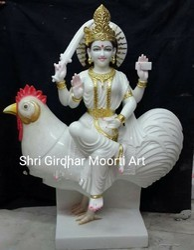 Bahuchara Ji Marble Moorti
