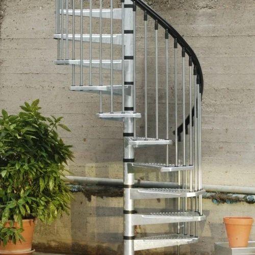 Round Stair SS Railing