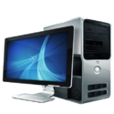 Assembled Computer Desktop