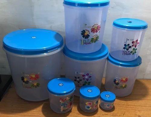 Mix Plastic Containers For Kitchen, Capacity: 2 Kg 3 Kg 5 Kg 7 Kg 10 ...