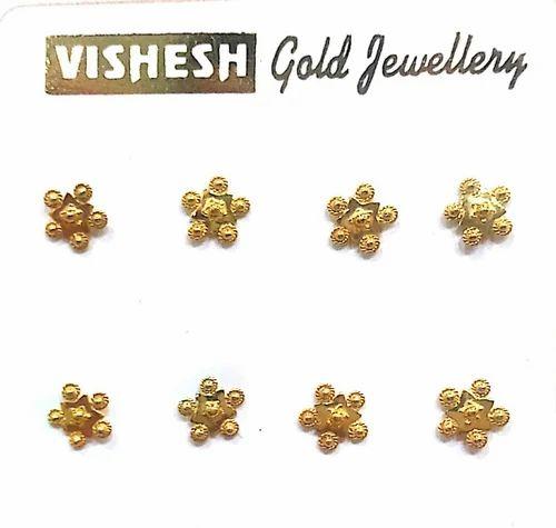 Vishesh Jewels Gold Nose Pins Rs 1000 Piece Vishesh Jewels