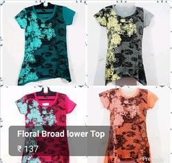 Designer Printed Ladies T Shirt