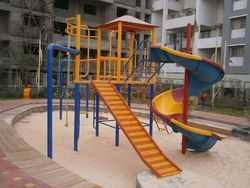 Multi Play Set with Gymnastic Equipment