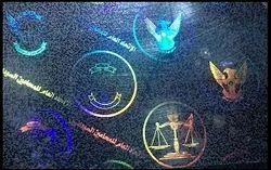Transparent Custom PVC Cards Holograms