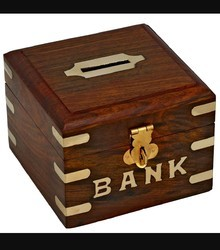 Brown Children Money Bank