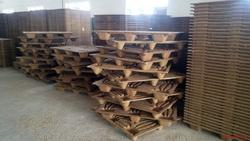 Square Four Way Wooden Pallets