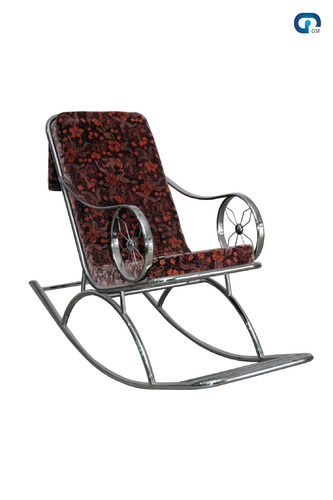 Gentil Rocking Stainless Steel Chair