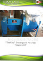 Detergent Powder Formulation Consultancy