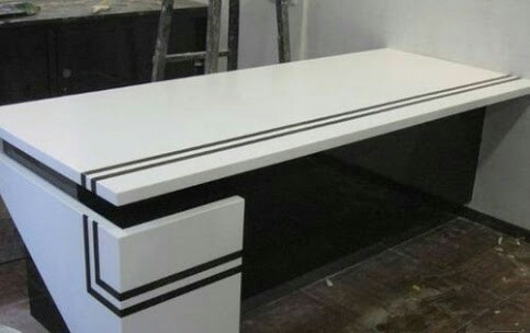 Corian Top Center Table at Rs 650 /square feet | Decorative Center ...