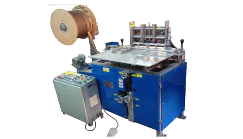 Automatic Wiro Inserting & Closing Machine, Model Name/Number: AJAY-WB-500