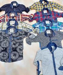 Kids Boys Cotton Kids Casual Shirts