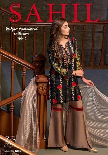 915f20c3ce Sahil Vol 6 Embroidered Lawn Collection - Sahil Vol 6 Embroidered ...