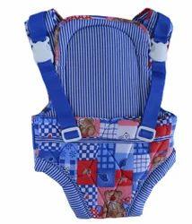 Blue Cotton Baby Kangaroo Bag-103- Single Print
