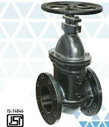 Ci d/f Sluice valve ISI marked