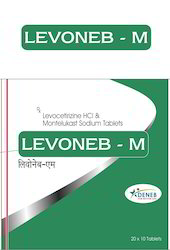 Levocetrizine Montelukast (Levoneb - M Tablet)