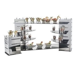 buffet ware display stands buffet dispensers raisers platters rh indiamart com DIY Risers for Buffet Table buffet risers and stands australia