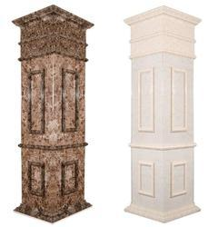 Engineered Marble Pillars