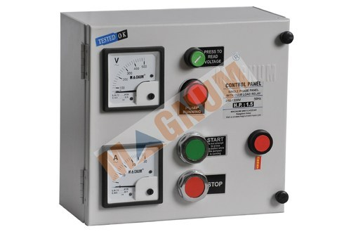 Manufacturer Of Over Load Relays Three Phase Dol Motor Starter By Magnum Switchgear Bengaluru