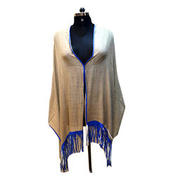 Leather Fringed Scarves