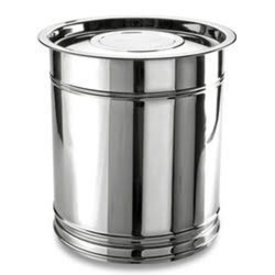 Stainless Steel Pawali Drum 22g And 26g