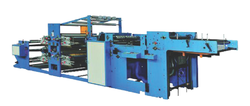 Flexographic Printing And Ruling Machine
