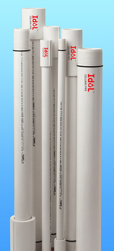 UPVC Submersible Column Pipes - UPVC Drop Pipes For