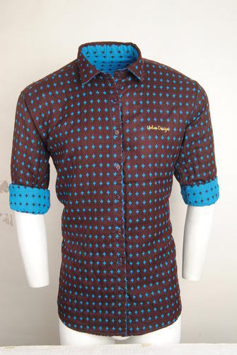 Diamond Urban Design Casual Shirts