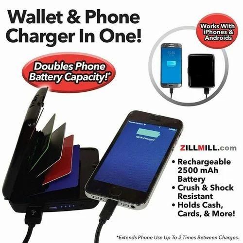 d3c10770d6554 E-charge Wallet Delux Portable Power Bank