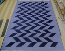 MB Exporte Black and grey Rug Durry