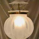 Antique Pumpkin Shape Hanging Lamp