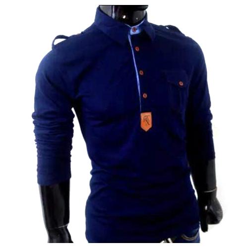 Men's T-Shirt - Men's Full Sleeve T-Shirt Manufacturer from Ludhiana