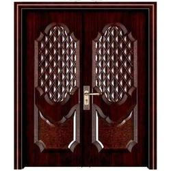 Double Leaf Steel Security Door