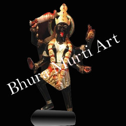 Black Stone Kali Statue