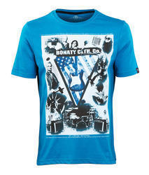 Mens Printed Knitted T-Shirts