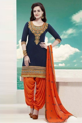 608303b873 Party Wear Patiala Suit at Rs 800 /plate(s) | Mota Varachha | Surat ...