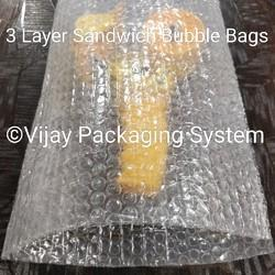 3 Layer Sandwich Air Bubble Bag