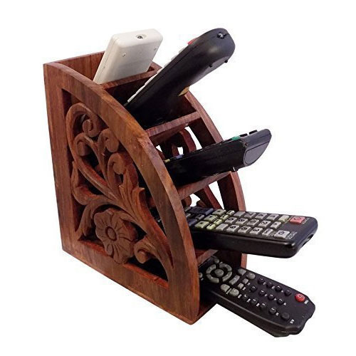 Home Decor Products - Wooden Remote Control Holder Manufacturer