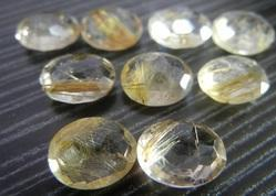 Golden Rutile Natural Gemstone