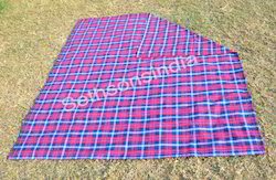 Check Sethsons India Blankets, Size: 75x100cm