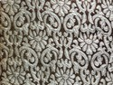 Banarasi Jacquard Fabric Copper