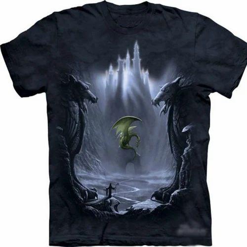 3D Printing T Shirts, प्रिंटेड टी शर्ट्स